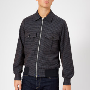 PS Paul Smith Men's Bomber Jacket - Indigo