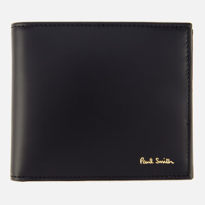 Paul Smith Men's Billfold Stripe Wallet - Black