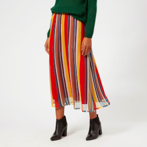 Gestuz Women's Una Skirt - Multi Stripe