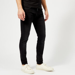 Versus Versace Men's Slim Fit Jeans - Black