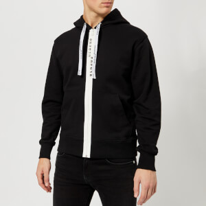 Versus Versace Men's Zip Tape Hoody - Black