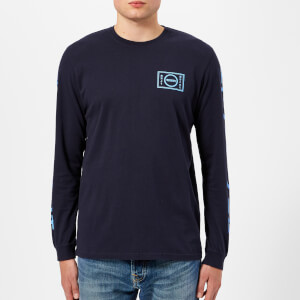 Edwin Men's Gang Long Sleeve T-Shirt - Navy