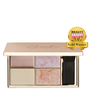 Sleek MakeUP palette di illuminanti - Solstice 9 g