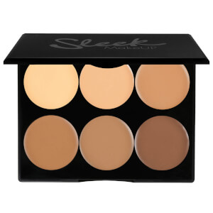 Палетка для контурирования лица Sleek MakeUP Cream Contour Kit - Medium 12 г