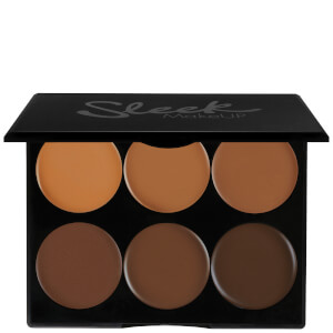 Sleek MakeUP set in crema per contouring - molto scuro 12 g