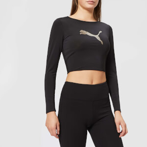 Puma Women's Ambition Crop Top - Black