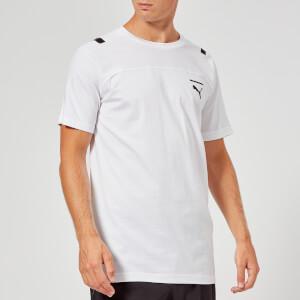 Puma Men's Pace Short Sleeve T-Shirt - Puma White