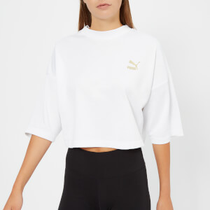 Puma Women's Retro Top - Puma White