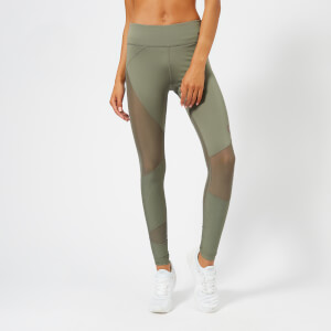 Puma Women's Punch Long Tights - Castor Gray