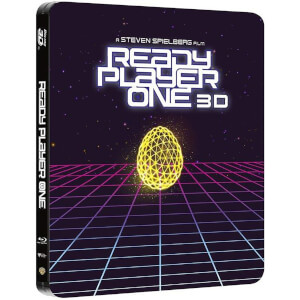 Ready Player One 3D (avec Version 2D) - Steelbook Exclusif Limité pour Zavvi