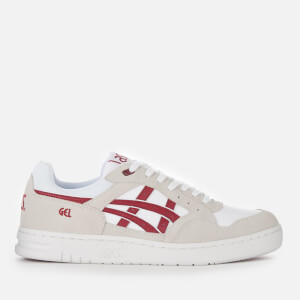 Asics Lifestyle Men's Gel-Circuit Trainers - White/Burgundy