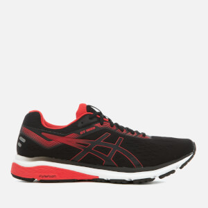 Asics Running Men's GT-1000 7 Trainers - Black/Red Alert