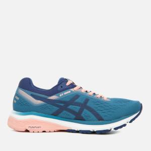 Asics Running Women's GT-1000 7 Trainers - Azure/Blue Print