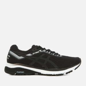 Asics Running Women's GT-1000 7 Trainers - Black/White