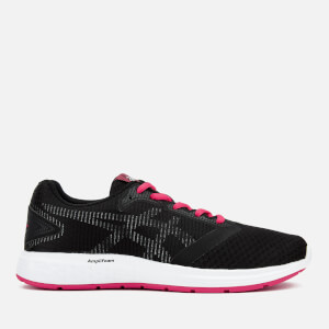 Asics Running Women's Patriot 10 Trainers - Black/Pixel Pink
