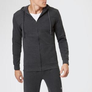 Asics Men's Tailored Full Zip Hoody - Phantom Heather