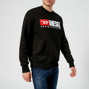 Diesel Men's Crew Division Sweatshirt - Black