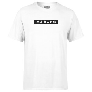 Anthony Joshua Classic Logo Men's T-Shirt - White
