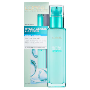 L'Oreal Paris Hydra Genius Liquid Care Moisturiser Normal Dry Skin 70 ml