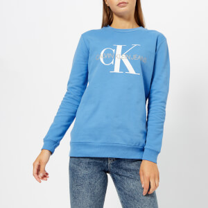 Calvin Klein Jeans Women's Monogram Logo Sweatshirt - Regatta