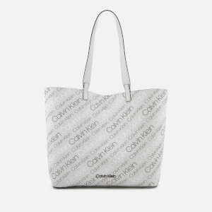 Calvin Klein Women's Inside Out Large Shopper Bag - Grey/Black