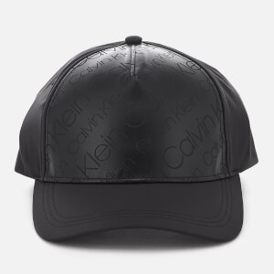 Calvin Klein Women's Metallic Baseball Cap - Black