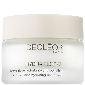 Crème Riche Hydratante Anti-Pollution Hydra Floral DECLÉOR