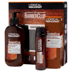 L'Oreal Men Expert Short Hair Barberclub Collection Gift Set for Him (Worth £19.98)