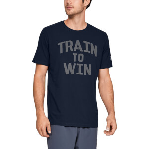 Under Armour MFO Train To Win T-Shirt - Navy Blue