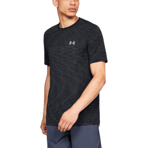 Under Armour Men's Vanish Seamless Shorts Sleeve Top - Black