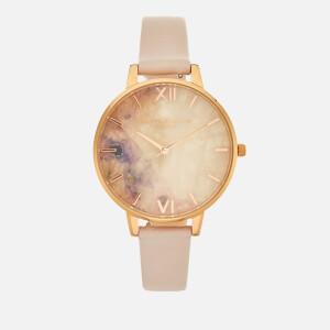 Olivia Burton Women's Semi Precious Watch - Blossom/Rose Gold
