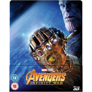 Avengers: Infinity War 3D (Includes 2D Version) - Zavvi UK Exclusive Limited Edition Steelbook
