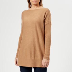 Joules Women's Lilly Boat Neck Jumper - Sand