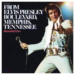 From Elvis Presley Boulevard Memphis Tennessee Vinyl