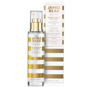 James Read Coconut Dry Body Tan Oil olejek do opalania 100 ml
