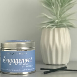 La de da! Living Sassy Wax Engagement - He Asked, She Said Yes! Candle 300g from I Want One Of Those