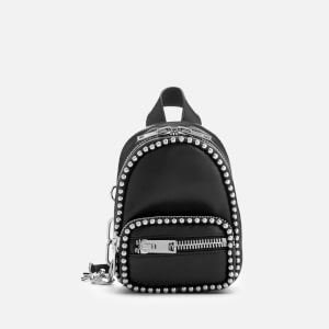 Alexander Wang Women's Attica Soft Mini Cross Body Backpack with Ballchain - Black