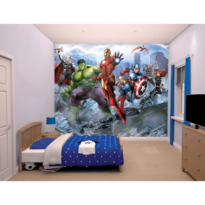 Décoration Murale Avengers Assemble Marvel - Walltastic