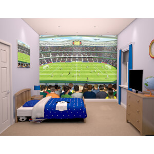 Walltastic Football Crazy Wall Mural
