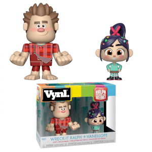 Disney Wreck It Ralph Ralph and Vanellope Funko Vynl.