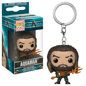DC Aquaman Pocket Pop! sleutelhanger