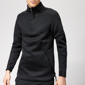 Under Armour Men's Unstoppable Move Airgap 1/2 Zip Top - Black