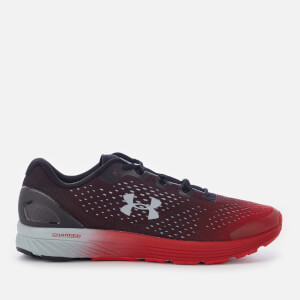 Under Armour Men's Charged Bandit 4 Trainers - Black.Red