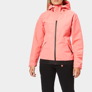 Superdry Women's Sd Elite Windcheater Coat - Elite Fluro Pink
