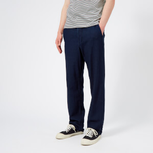 Oliver Spencer Men's Drawstring Trousers - Kildale Indigo Rinse