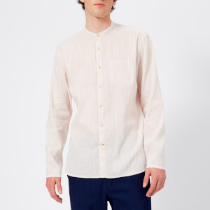 Oliver Spencer Men's Grandad Shirt - Korda Pink