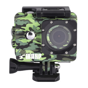 Waspcam 9942 Wi-Fi 4K Sports Action Camcorder - Camo