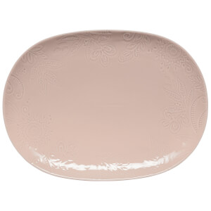 Denby Monsoon Gather Large Platter - Pink