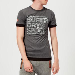 Superdry Sport Men's Tech Longline Short Sleeve T-Shirt - Steel Twist