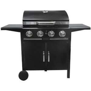 Tepro Richfield 4 Burner BBQ - Black